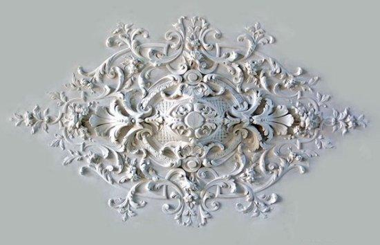 Ornament 33: Franse belle epoque. 1870. Neo Lodewijk 16e stijl rozet
