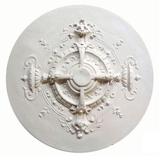 Ornament 39: Hollandse empirestijl. 1860. Frans. Leeuwenrozet
