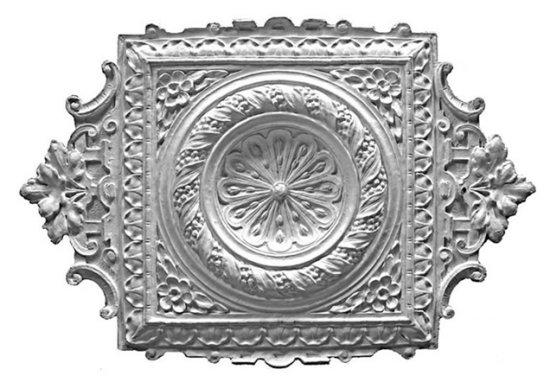 Ornament 42: Hollandse Lodewijk 16e stijl. 1860. Machee opzetrozet