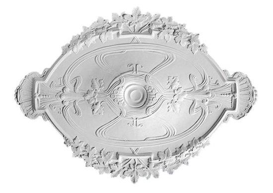 Ornament 44: Belgische jugendstill. 1925. Opzetrozet esdoornmotief