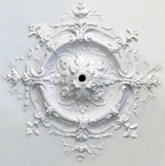 Ornament 56: Franse belle epoque. 1870. Medaillonrozet rond.